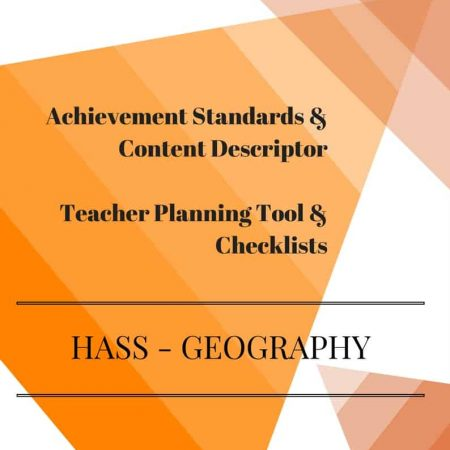 Foundation HASS - Geography