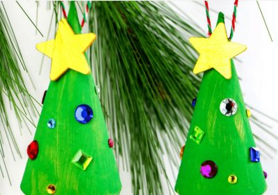 Super Easy Christmas Tree Crafts