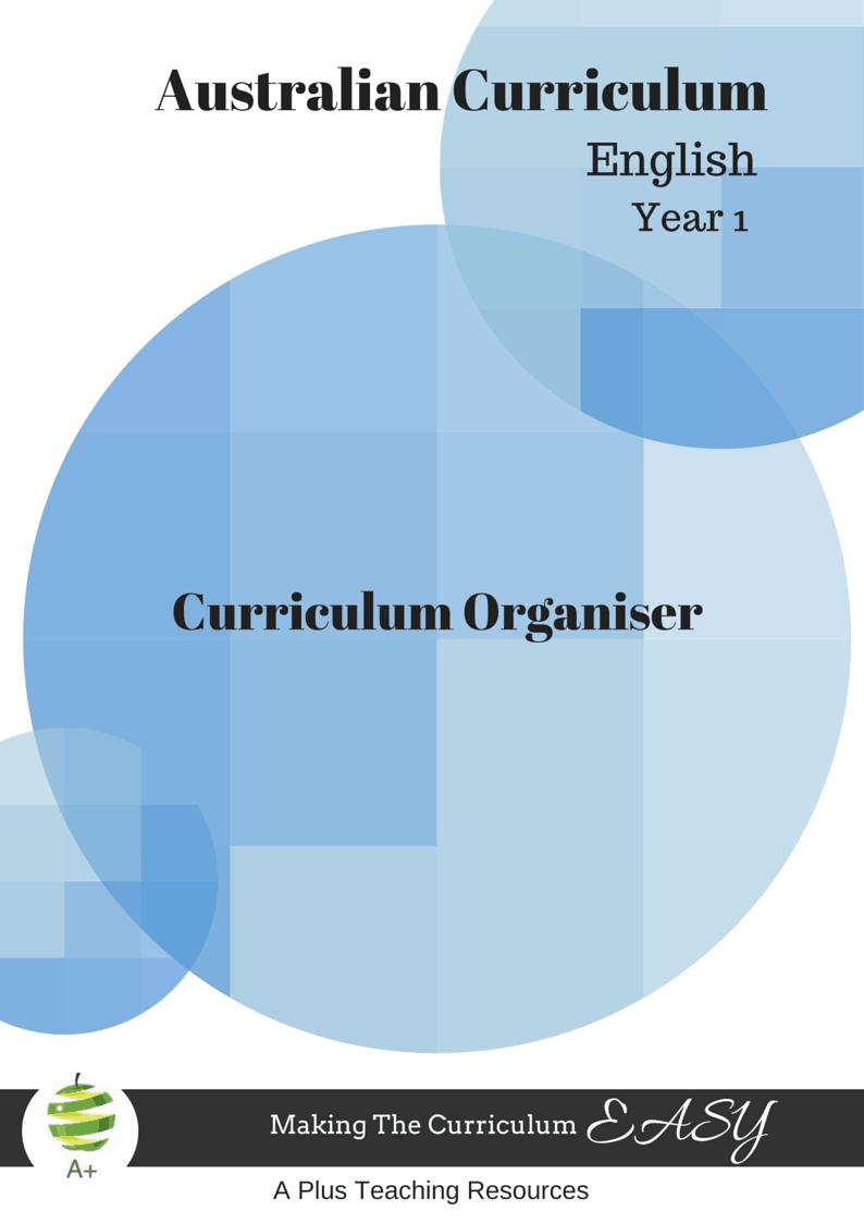 Year 1 English