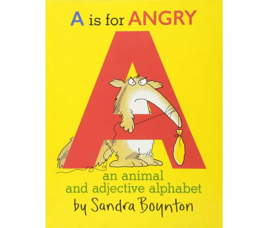 "Image Of Book Cover ""A is for Angry"""