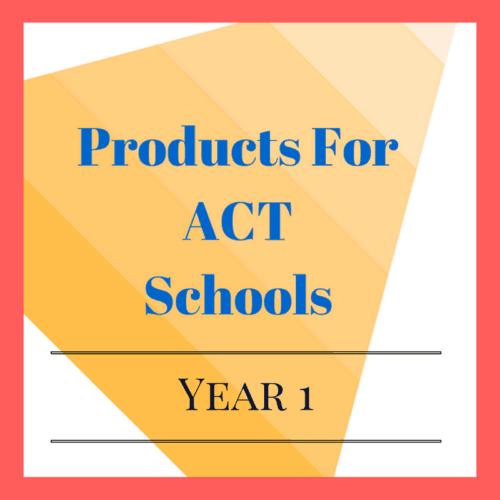 Year 1 ACT