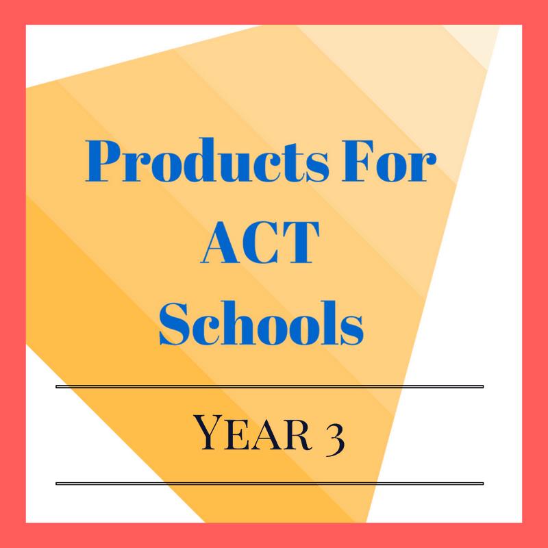 Year 3 ACT