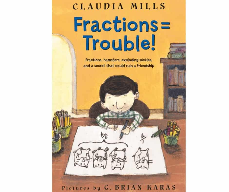 Book Cover image Fractions = Trouble