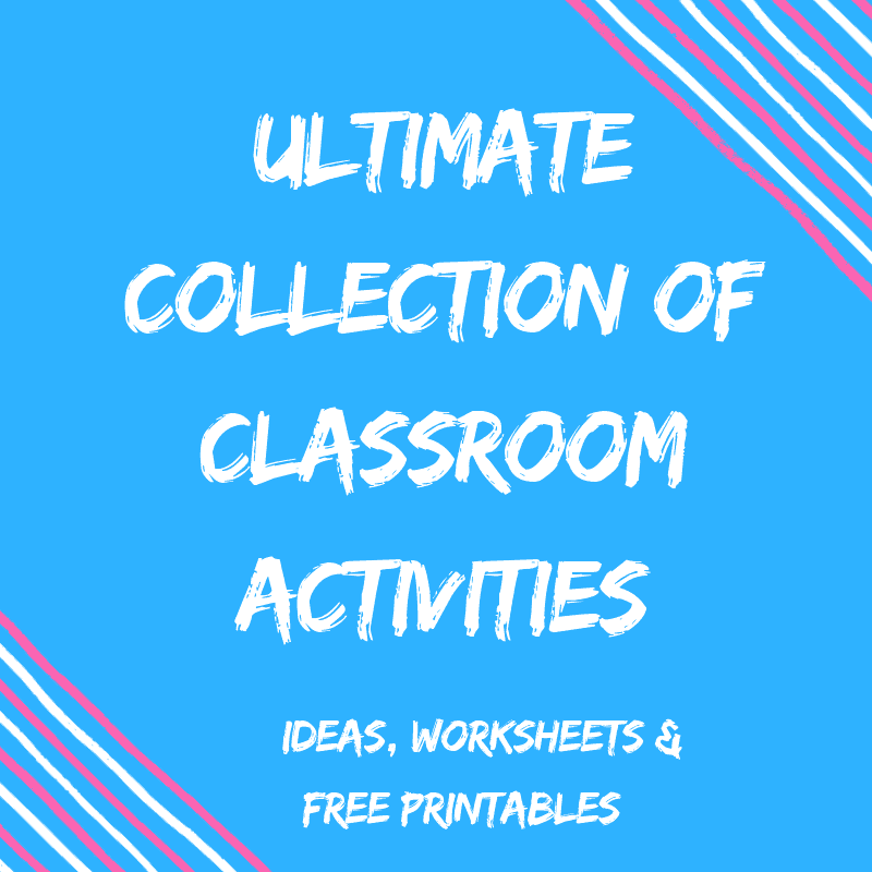 Teacher Worksheets & Classroom Activities