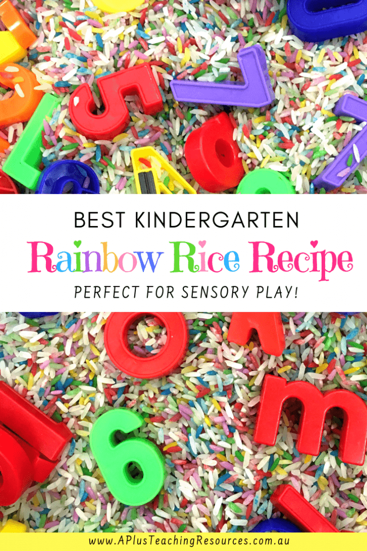 Coloured Rainbow Rice Recipe