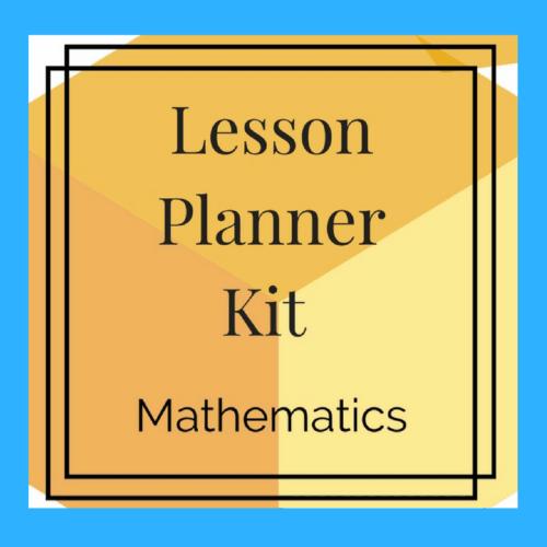 Lesson Planner Kit
