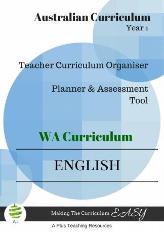 English curriculum organiser WA