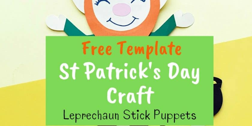 FREE Build A Leprechaun Activities Printable
