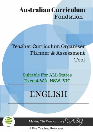 Teacher Organiser English