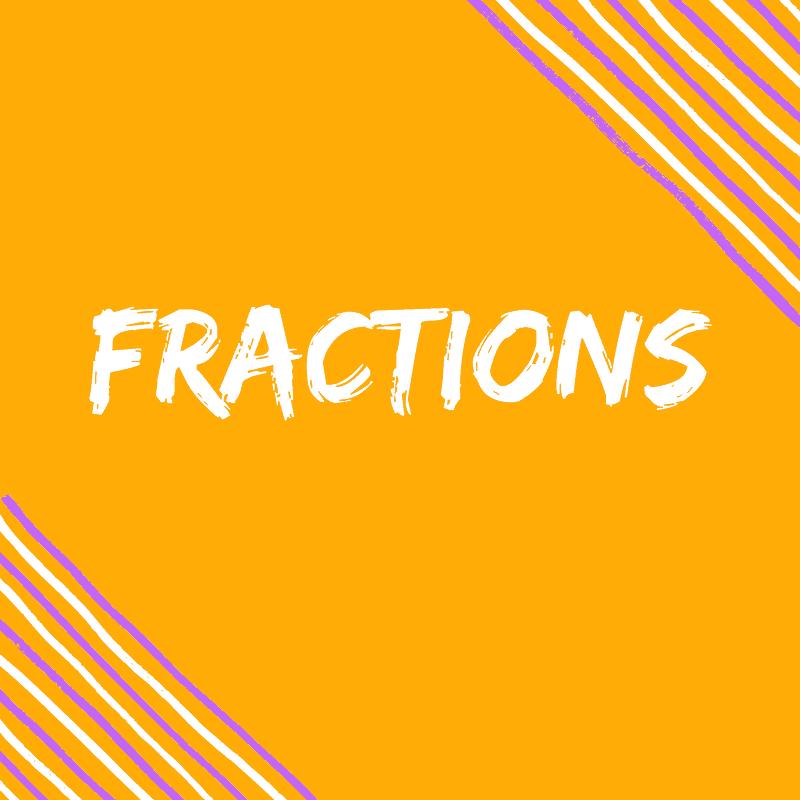 Fractions Pinterest Ideas