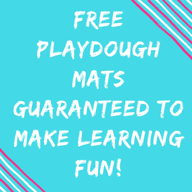 Free Playdough mats