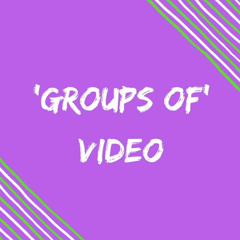 Groups of video