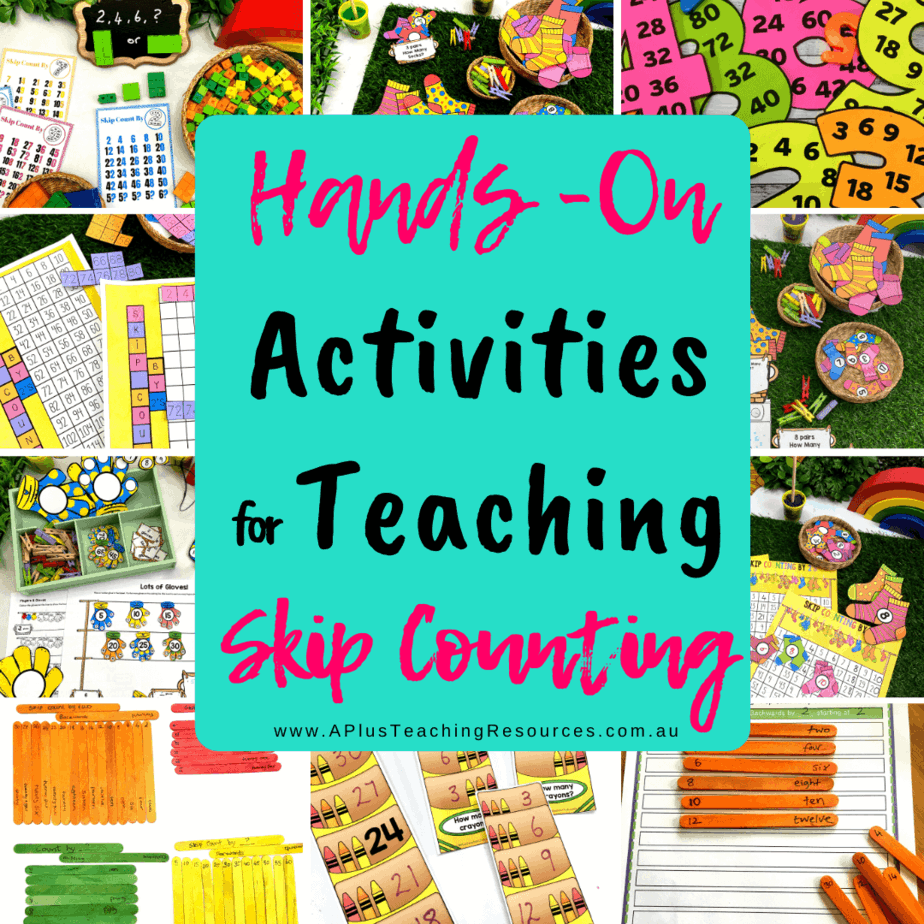 Teaching Skip Counting {It's More Than Chanting!}