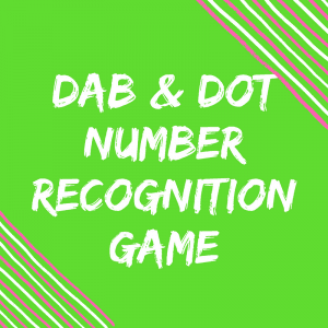 Number Recognition – I Spy 0-10