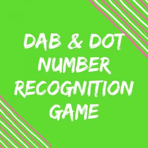 Number Recognition – I Spy 0-10