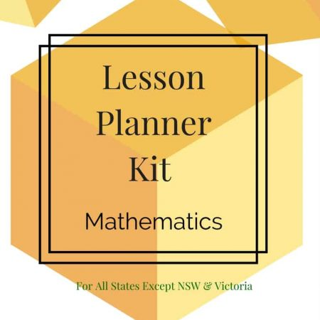 Lesson Planner - Maths - Foundation