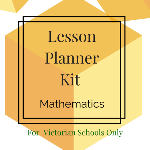 Lesson Planner Kit - Maths LEVEL 4- VICTORIAN