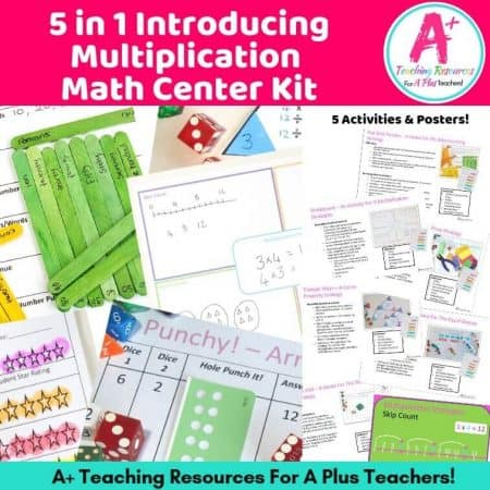 Multiplication Strategies KIT Product Image