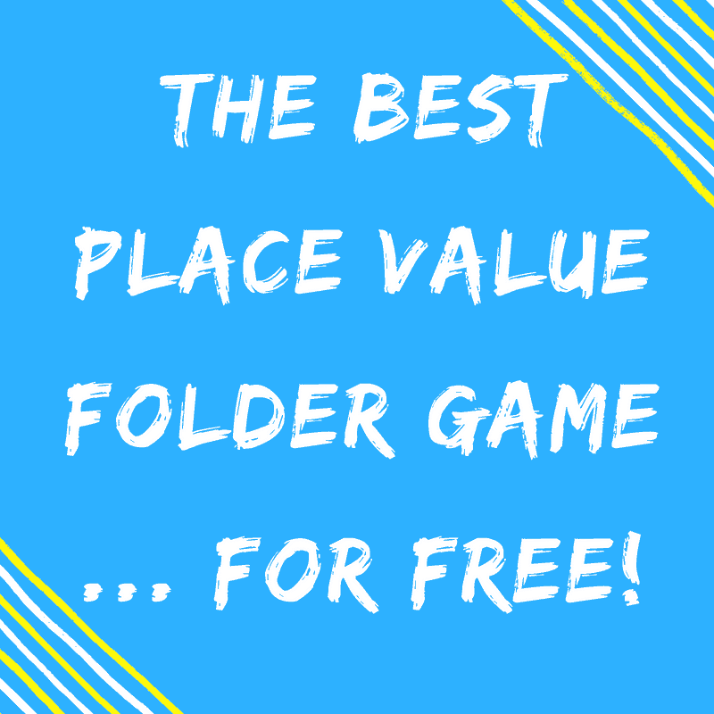 Place Value Folder for free