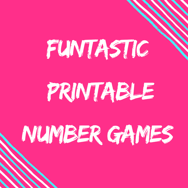 Printable Number Games