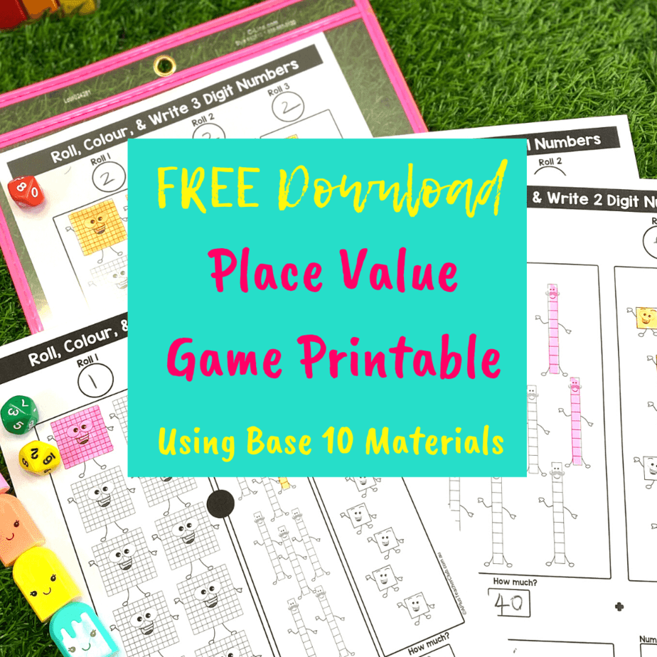 FREE Place Value Games {Hand-On Math Games!}