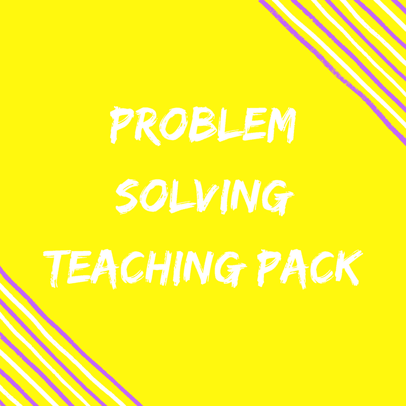 Problem Solving Teaching Pack