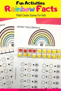 Image of student worksheets on Pinterest Pin