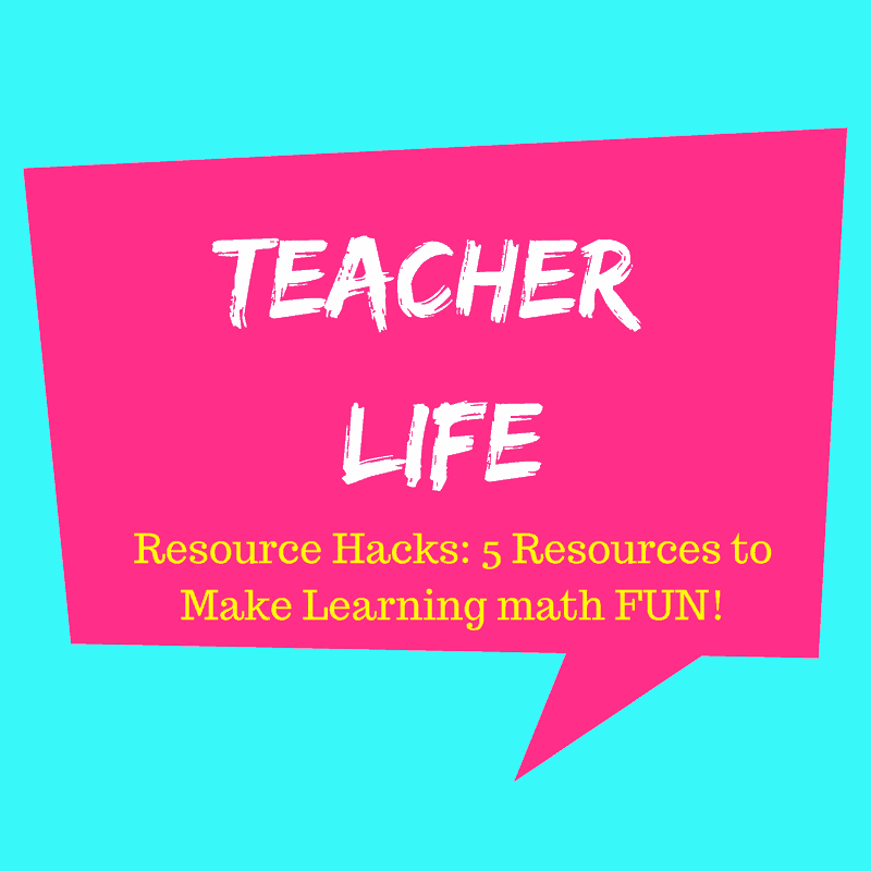 Teacher Resource Hacks
