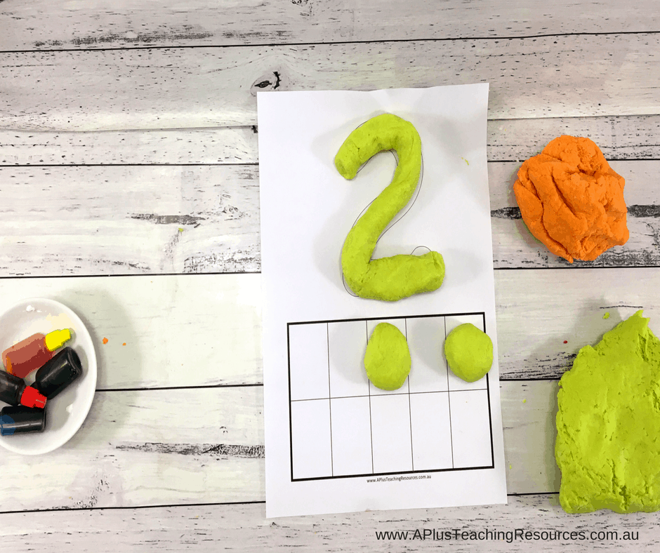 Soft homemade playdough recipe