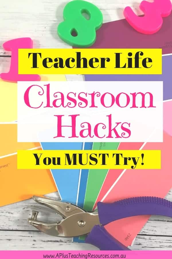 Teacher life teaching hacks
