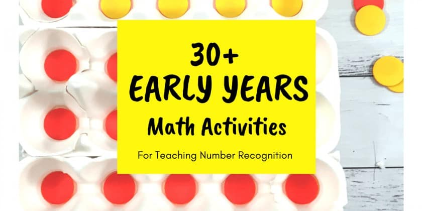 30+ Of The Best Activities For Teaching Number Recognition