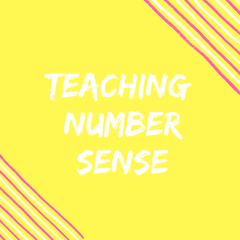 Teaching Number Sense Header