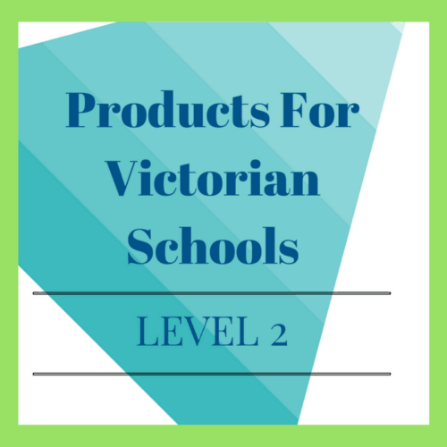 Victorian Curriculum Level 2