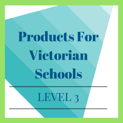 Victorian Curriculum Level 3