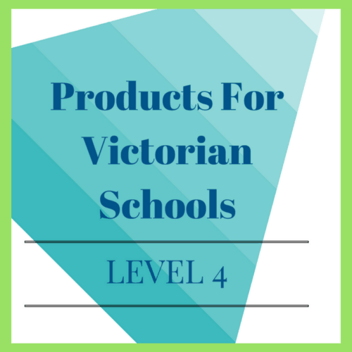 Victorian Curriculum Level 4