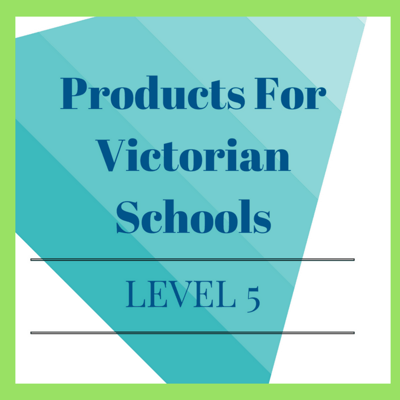 Victorian Curriculum Level 5