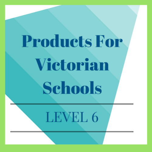 Victorian Curriculum Level 6