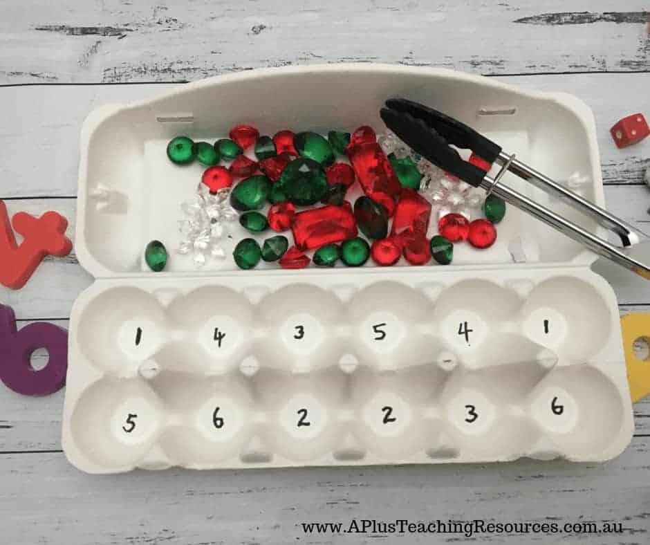 egg box maths
