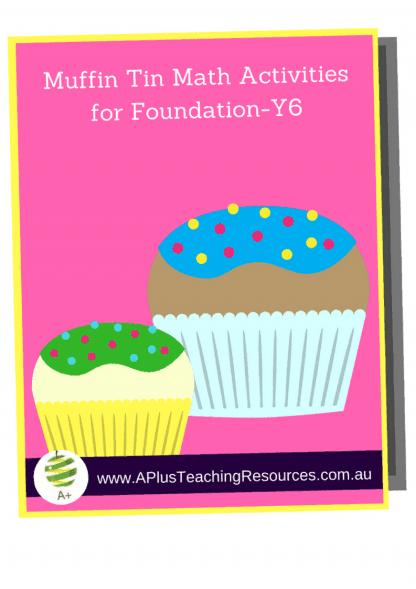 FREE Math- Muffin Tin Games