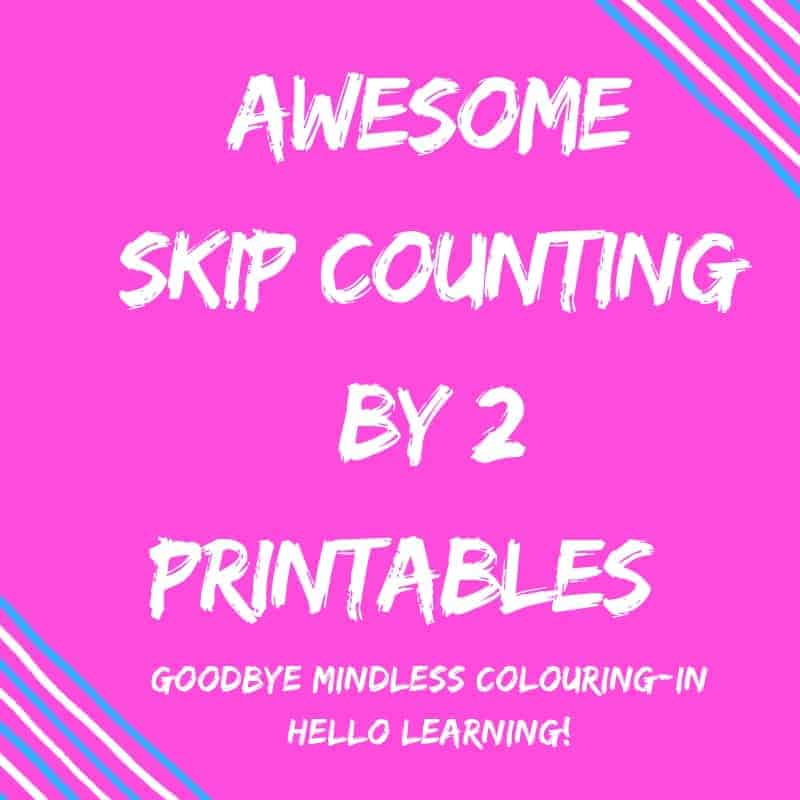 Teaching skip counting by 2